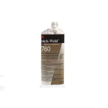 Klej dwuskładnikowy EPX DP760, 50ml - biały
