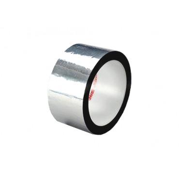 Taśma poliestrowa 3M 850 Silver, 100mm x 66m