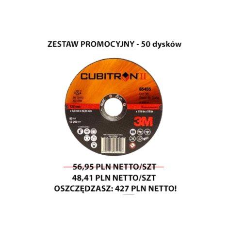 Tarcza Cubitron II 65463, 230x2 PROMO ZESTAW 50