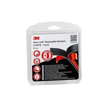 Rzep Dual Lock SJ 387B  25mm x 2,5m  czarny