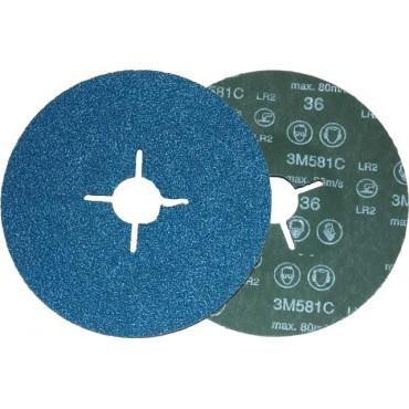 Dysk fibrowy 581C, P80, 115mm