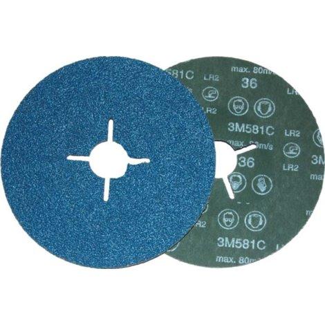 Dysk fibrowy 581C, P60, 178mm