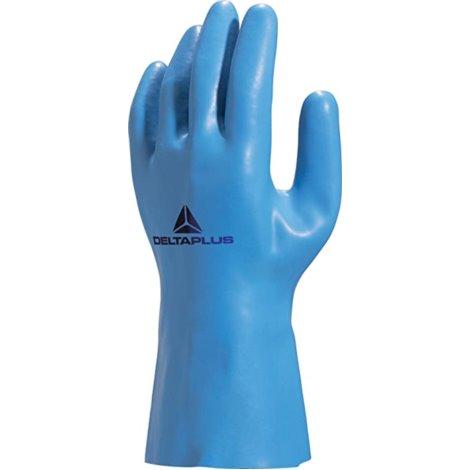 Rękawice Venizette z lateksu na wkladzie R.8,5