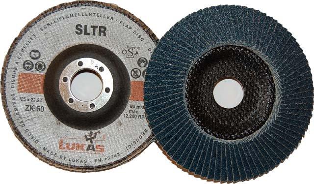 Dysk lamelkowy SLTR, fi 115mm, P60 Zirkon