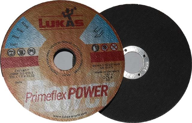 Tarcza do cięcia Lukas MILD Fi 125mm x 1mm x 22mm