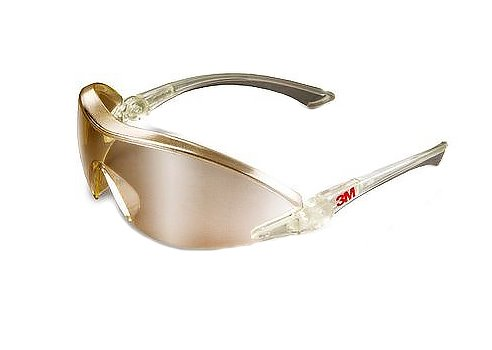 Okulary ochronne 3M 2844 - jasnożółte, lustrzane