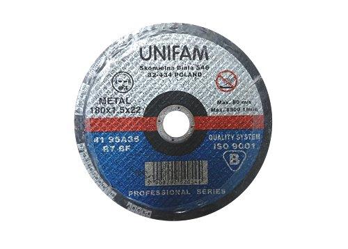 Tarcza do cięcia 3M Unifam 41 - 95A 180x1,5x22