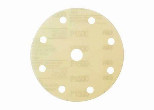 Krążek ścierny na rzep 260L, P800, 9 otw