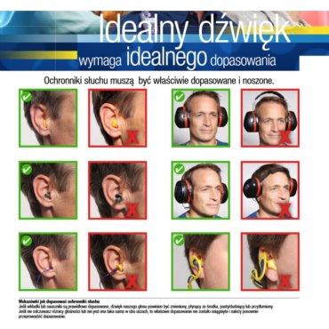 Wkładki 3M EAR SOFT bez sznurka