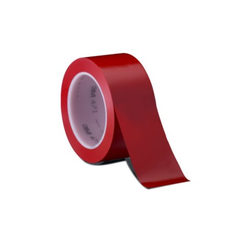 Taśma winylowa 3M 471 50mm x 33m, czerwona