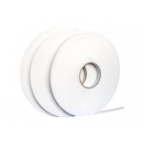 Taśma V1500, 1mm, biała 9mm x 50m