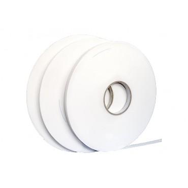 Taśma V1500, 1mm, biała 19mm x 50m