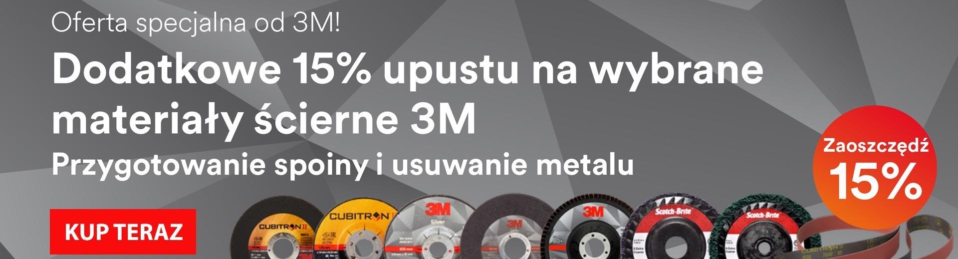 Promocja 3M - usuwanie spawów i spoin